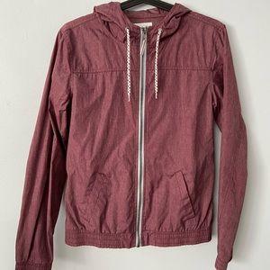 ZINE | hooded windbreaker jacket Girls Medium